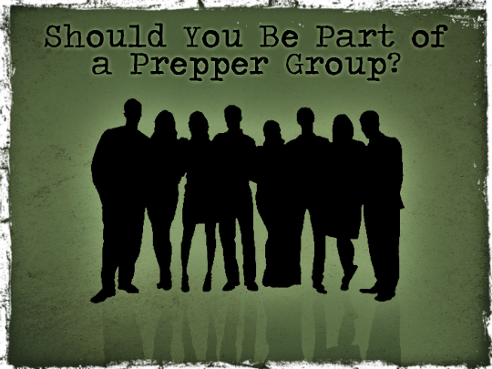 joining a prepper group